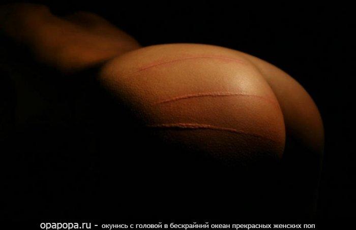 Фото: девичья вкусная попка без труселей наказанная